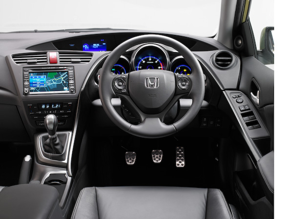 New Honda Civic interior