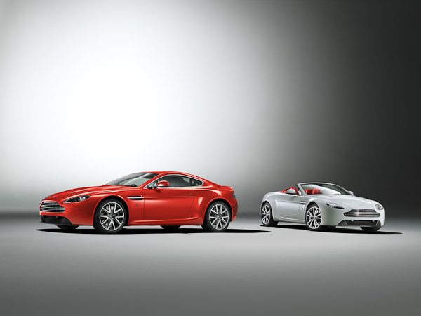 V8 Vantage range 2012