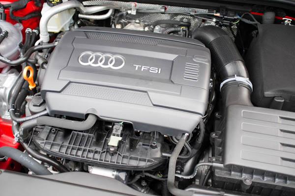 Audi A3 Black Engine