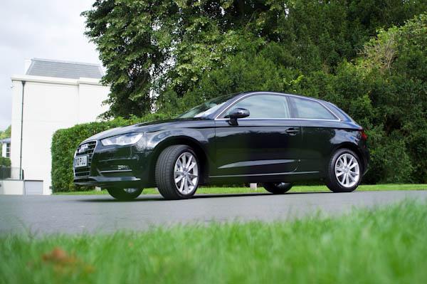 Audi A3 Black Front