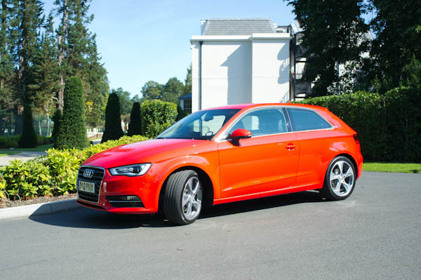 Audi A3 Red Side