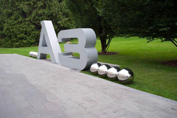 Audi A3 Sign
