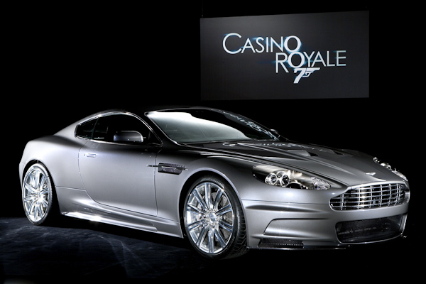 Casino Royale Aston Martin DBS