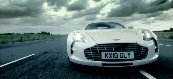 Aston Martin One-77 white