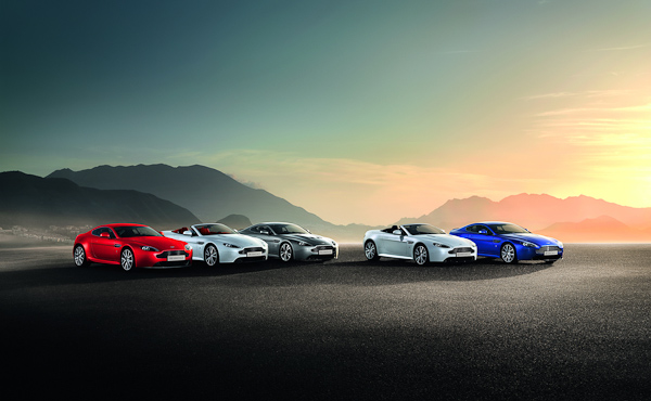 Vantage range 2012