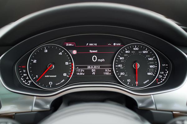 Audi A6 Allroad Dash