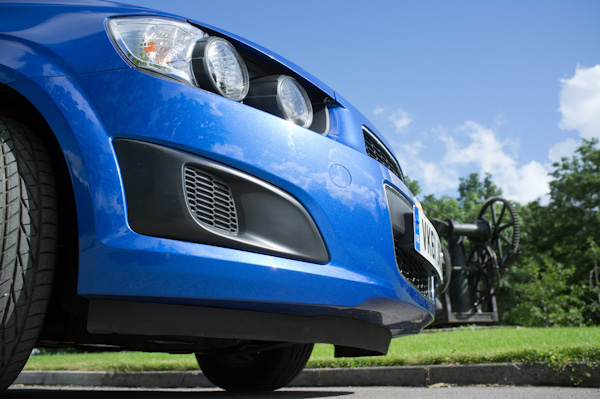 Chevrolet Aveo Closeup