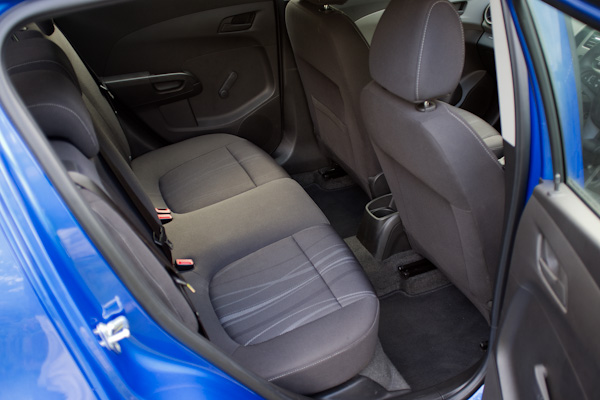 Chevrolet Aveo Interior Rear Seats
