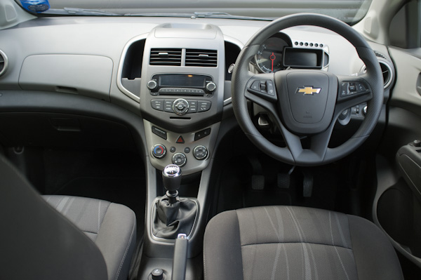 Chevrolet Aveo Interior Dash