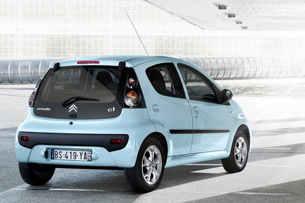 Citroen C1 rear