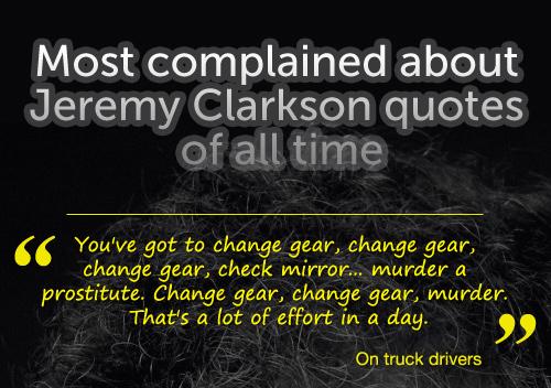 Jeremy clarkson lorry