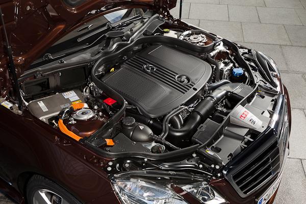 E-Class Hybrid engine