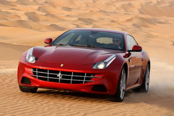4x4 Ferrari