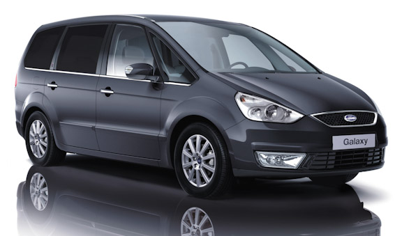 new Ford Galaxy grey