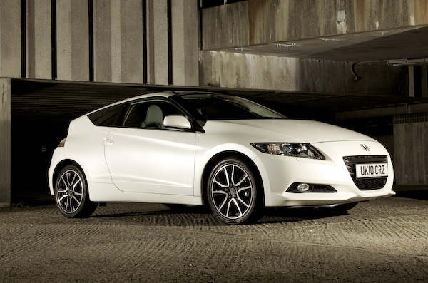 Honda CR-Z white