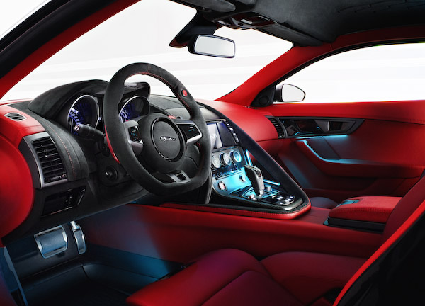 C-X16 Jaguar interior