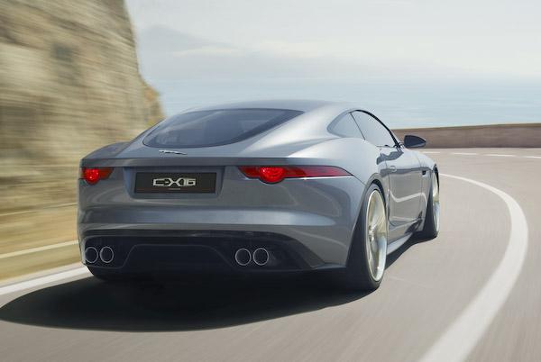 C-X16 rear