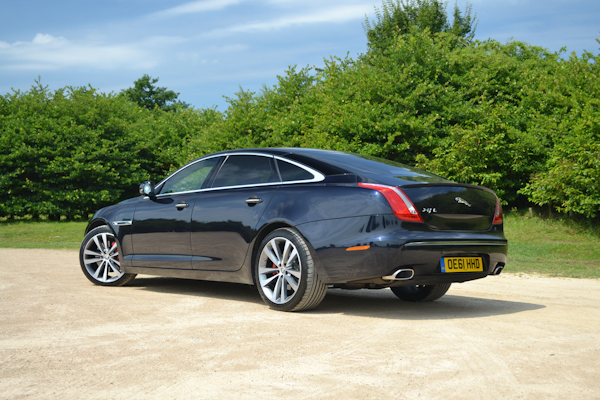 Jaguar XJ Rear Black
