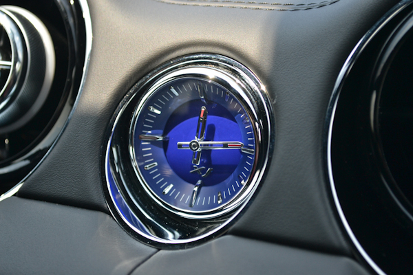 Jaguar XJ Clock