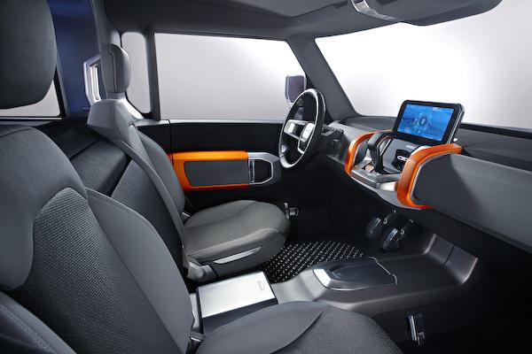 Defender concept interior