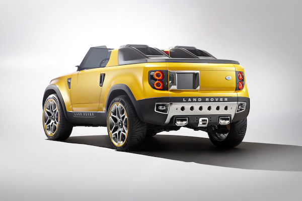 Land Rover Defender Concept Not For Sheep Carwow