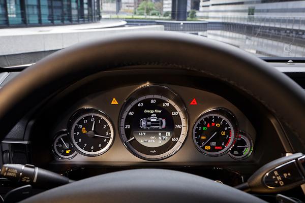 E-Class Hybrid Interior