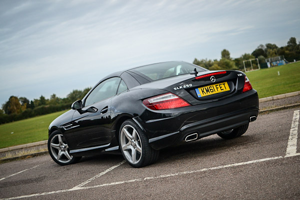 mercedes slk 250 cdi rear. Black Bedroom Furniture Sets. Home Design Ideas