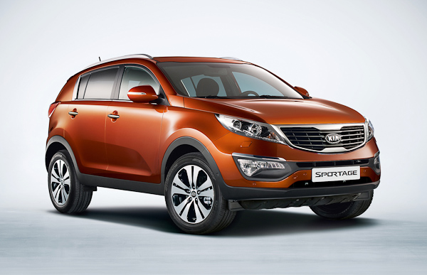 Kia Sportage First Edition Orange