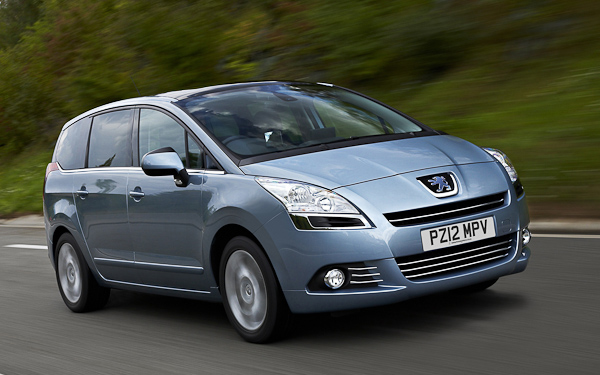 Best Large MPV 2012 - The Peugeot 5008