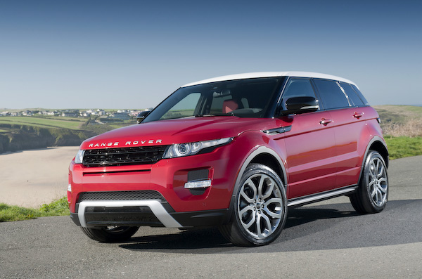 Evoque red and black