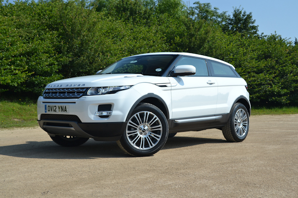 range rover evoque coupe uk review carwow. Black Bedroom Furniture Sets. Home Design Ideas