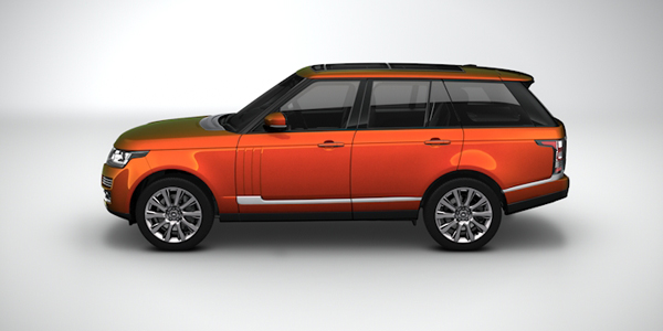 Magagascar Orange Rnage Rover