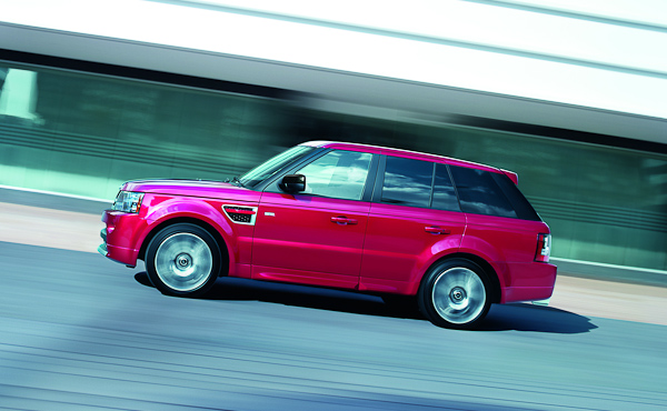 The range rover sport hse 39 red 39 and 39 luxury 39 have been