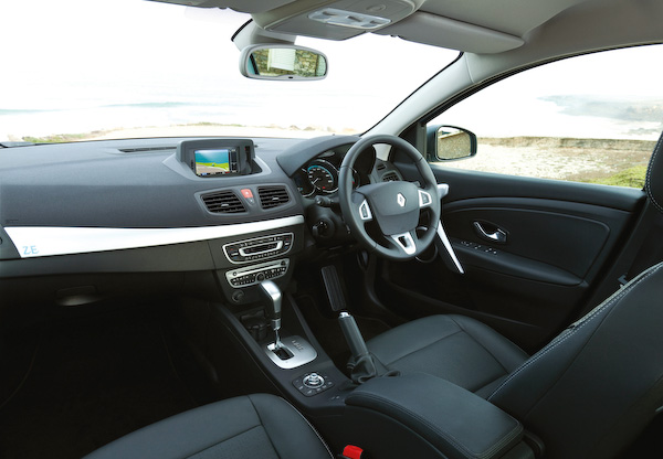 Fluence Z.E. Interior