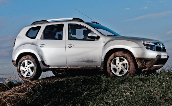 Renault Dacia Duster Side