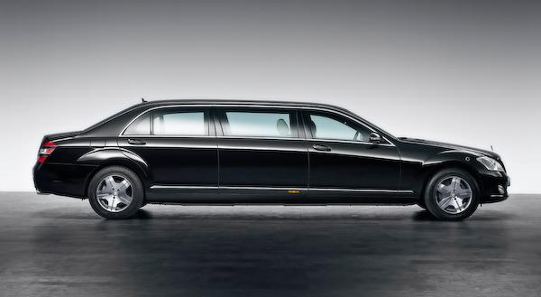 Russia president's car