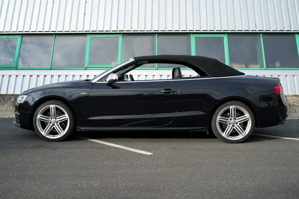 Audi S5 Cabriolet Roof on