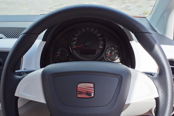 seat mii steering