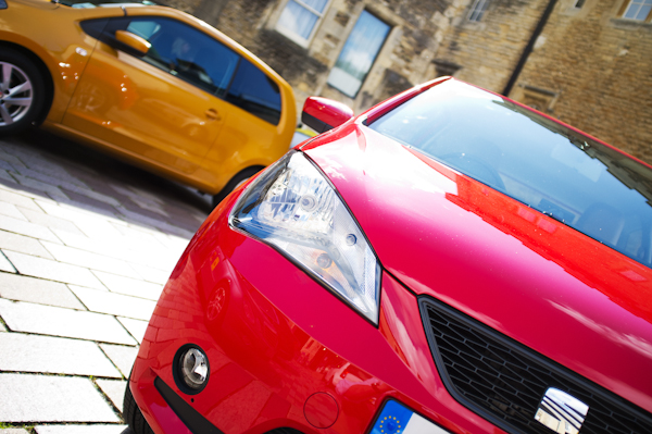 seat mii red front