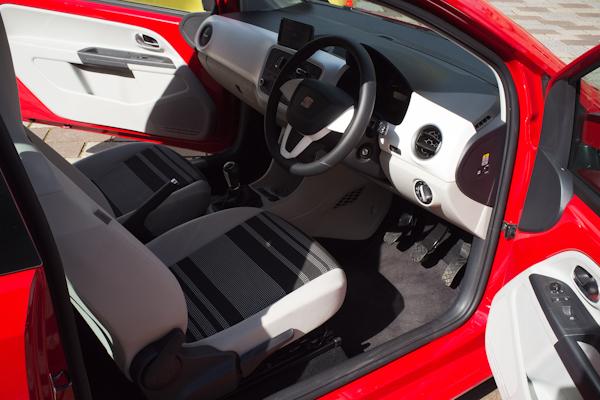 seat mii interior front