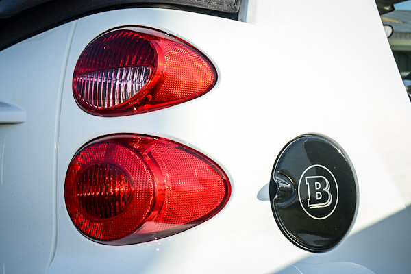 Smart Fortwo Brabus Rear Lights