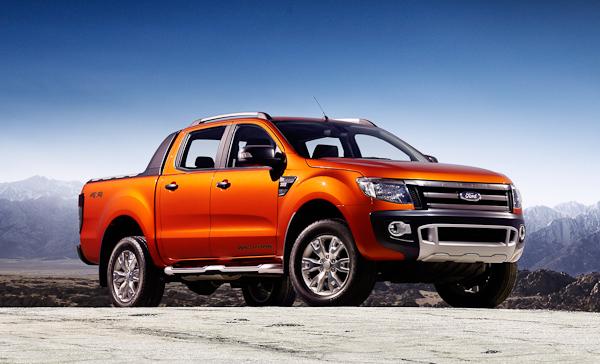 Tangerine Ford Ranger