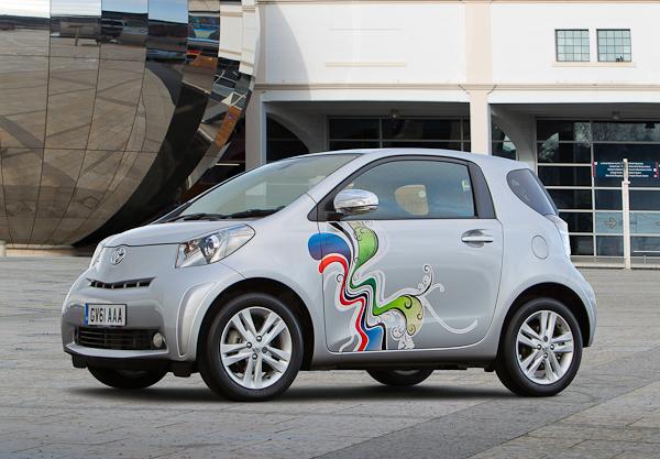 Toyota iQ custom exterior