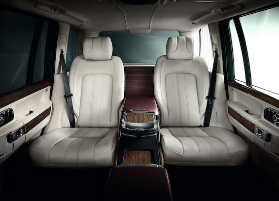 Ultimate Edition Range Rover seats