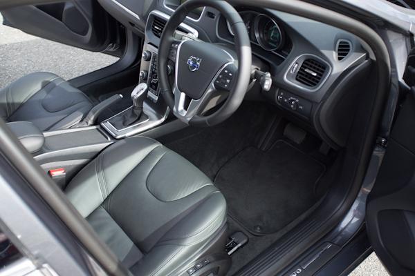 Volvo V40 Grey Interior