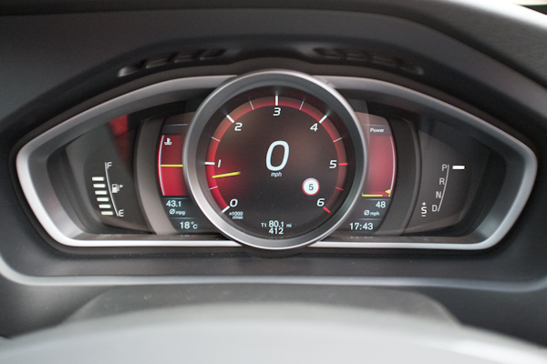 Volvo V40 Grey Dials