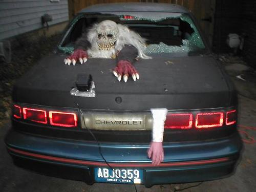 halloween special 5 easy ways to dress your car to distress