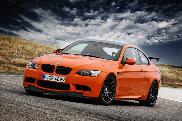 Orange BMW M3 GTS