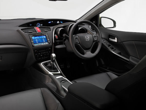 Honda Civic 2012 interior