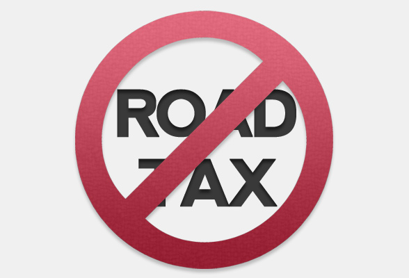 Road Tax not existing